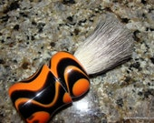This Is What HE Wants , Shave Brush and Razor Gift Set, Bengal Tigre #GG3