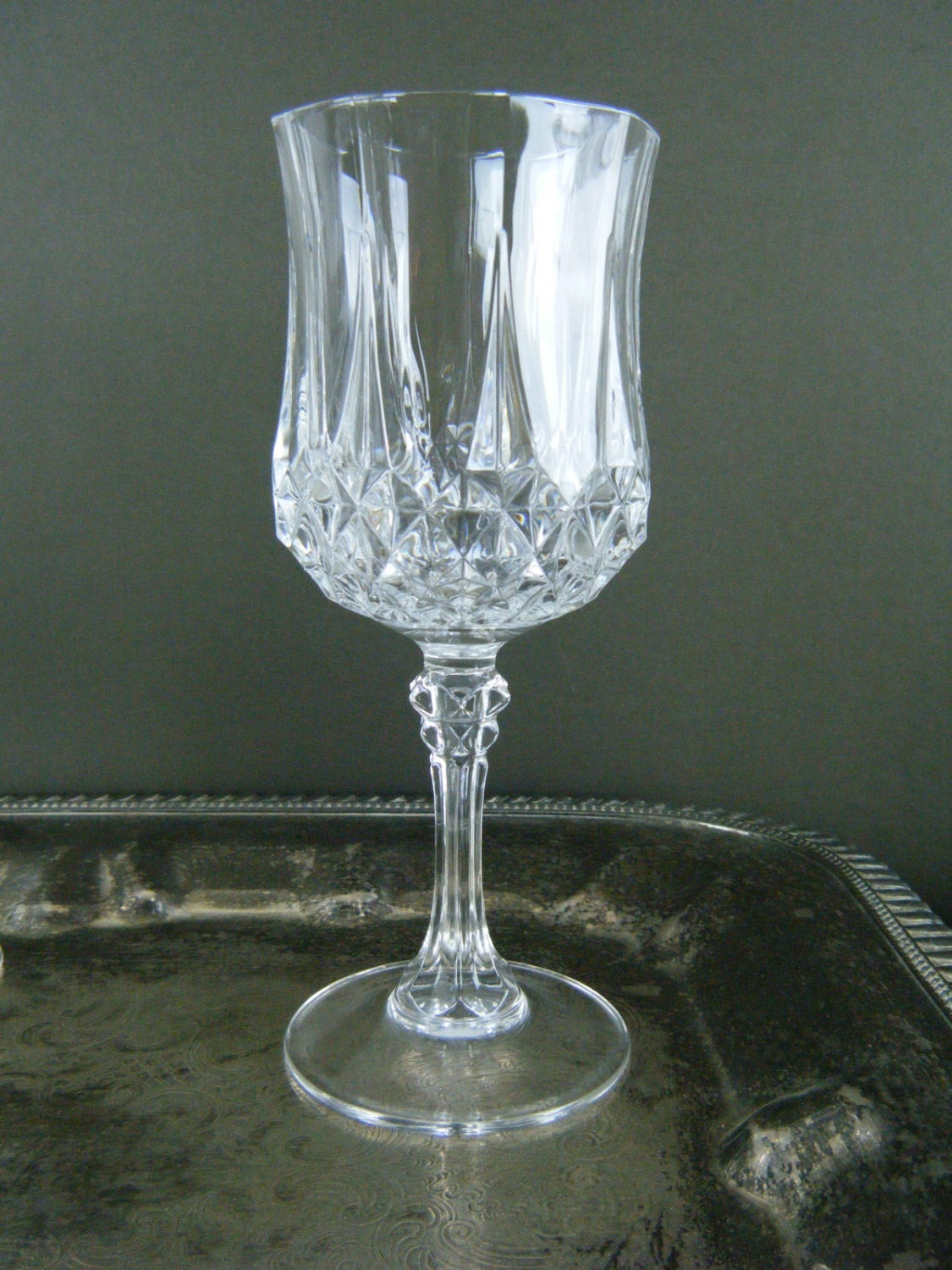 Thick wine glasses 28 images heavy thick hobnail bubble clear glass goblet goblet wine - Wine glasses with thick stems ...