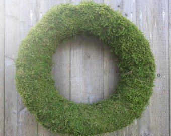 large moss wreath