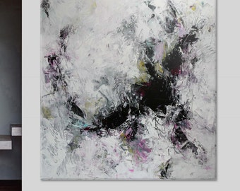 """painting Huge Oversized extra large original abstract painting on canvas contemporary fine art 64""""x60"""""""