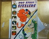 Hot stuff comic, Harvey Giant comics, vintage comics, golden age comics, western comics