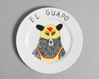 El Guapo side plate