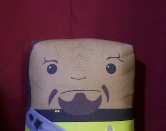 Lieutenant Worf Pillow Pal