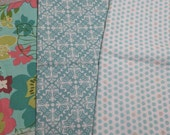 Cotton Fabric Scrap - Blue bundle