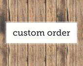 Custom Order for Elizabeth Modern Floating Shelves