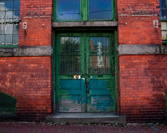 Green Door - 4x6 Original Fine Art Photograph