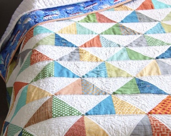 To the Point Quilt pattern by Cluck Cluck Sew