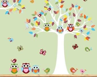 Wall Decals Nursery, Baby Wall Decals, Nursery Wall Decal, Children Wall Decal, Wall Decal Owls