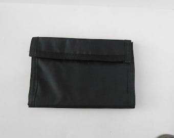 Black Nylon Wallet