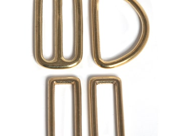 Brass Hardware Upgrade,, upgrade your 1.5 inch or 2 inch Martingale collar to brass hardware
