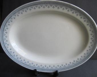 Antique Johnson Bros. Senora Platter , Circa 1910