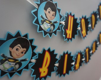 Miles from Tomorrowland Birthday Banner - MADE TO ORDER