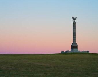 Maryland Art,  New York Monument, Fine Art Photography, Maryland Photography, Civil War, Civil War Art