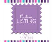 Custom Design Listing- lglaser
