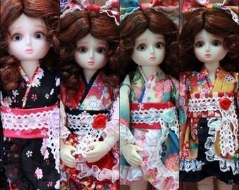 Yosd, Little Fee,1/6 BJD kimono Dresses.