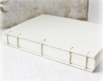 Blank Art Journal 9x12 Journal Watercolor Journal Mixed Media Journal Sketch Journal Hand Bound Book Canvas Journal Coptic Stitch Art Diary