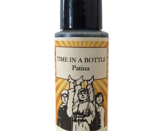 TIME IN A BOTTLE TOO052 Patina Liver of Sulfur gel black oxidize 1 oz