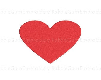 Heart Embroidery Design Instant Download