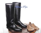 Reserved for Randall Custom made elegant horse riding Boots Men Riding Boots  Men's Horse Riding Boots  Men's Equestrian Boots