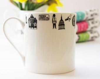 London Mug - London gift - Gift for him - London present