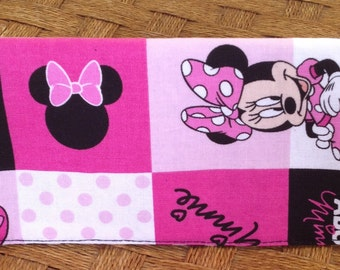 Minnie Mouse Check Book Cover