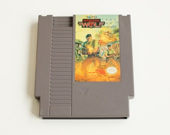 Vintage NES Operation Wolf Nintendo Shooter Game - Cleaned, Tested & Working!