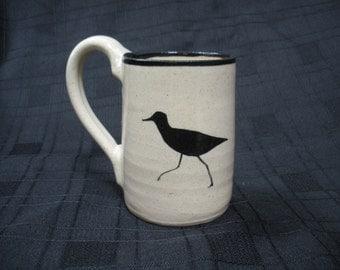 Coffee Mug with Shorebirds
