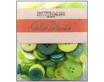Buttons Galore Totes Luck Lucky Classic Green Buttons Bulk Unsorted Sewing Crafts St Paddy's