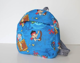 toddler backpack -- jake and the neverland pirates