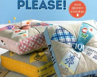 Patchwork, Please! by Ayumi Takahashi zakka sewing book