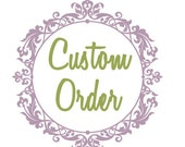 Custom Order beach dress 50% payment