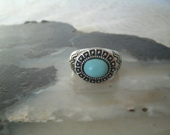 Turquoise Ring, southwestern jewelry southwest jewelry turquoise jewelry native american jewelry theme western jewelry cowgirl rodeo country