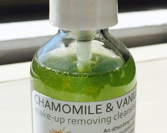 Chamomile and Vanilla Cleansing Oil (Make-Up Remover)-2oz