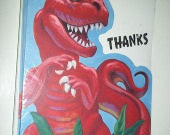 Dinosaur HALLMARK 8 Thank You Cards new condition old stock unopened package