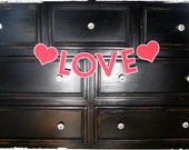 Love Banner Valentine And Photography Prop- READY TO SHIP