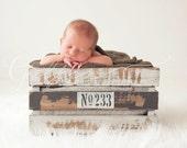 No 233 wooden crates