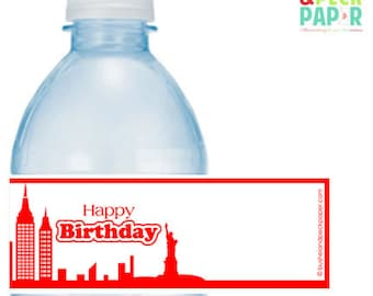 PRINTABLE #Annie Party #Bottle #Labels - (Instant Download) #DIY #digital #printable #file