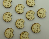 Cookies - Use for earring stud - EAR035