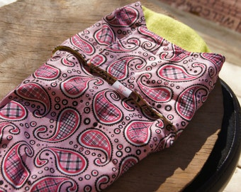 Doll Sized Paisley Swaddle Wrap