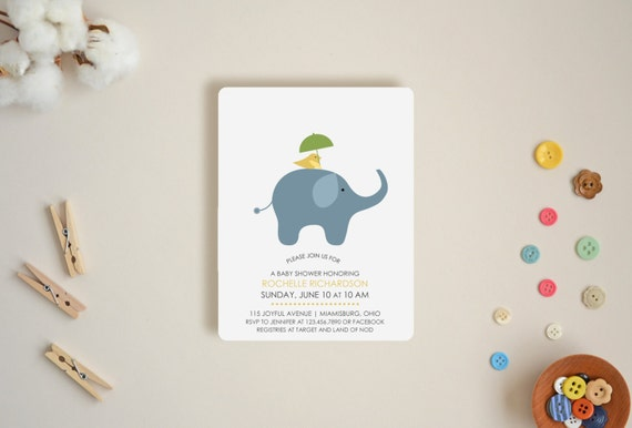 Happy Friends Invitations - Choose Your Colors