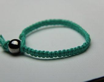 Mint Green Hemp Bracelet