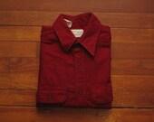 mens vintage chamois cloth shirt