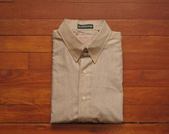 mens vintage tab collar shirt