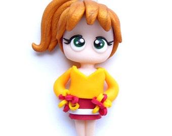 Buffy Cheerleader - BtVS - Miniature Sculpture - Charm Figurine