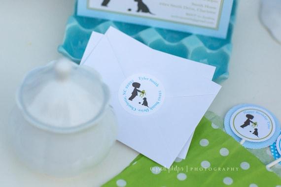 Frog Snails and Puppy Dog Tails Return Address Labels