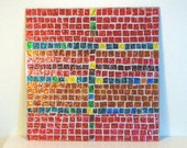 Abstract Stained Glass Mosaic Art Home Decor Wall Hanging Wall Decor