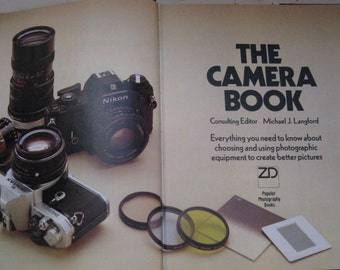 the camera book michael langford hardcover first edition 1980 dust jacket