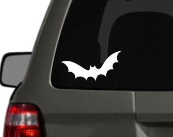 Bat Vinyl Car Decal BAS-0243