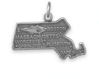 Massachusetts State Charm