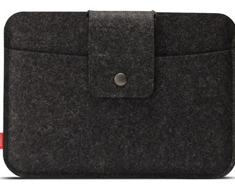 iPad AIR 2 case, cover, sleeve 100% real Merino wool felt Lleyn